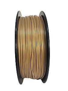 Filamento PLA 1,75mm Dourado 1kg para Impressora 3d
