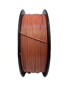 Filamento PLA 1,75mm Marrom 1kg para Impressora 3d