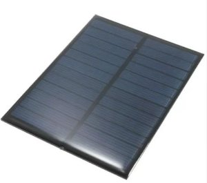 Mini Painel Placa Solar 6v 200ma 1,1w Painel Solar- Célula