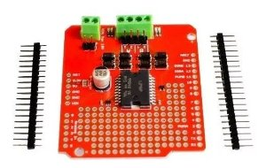 Motor Driver Shield L298 Ardumoto Ponte-h Para Arduino