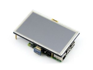 Tela Lcd Hdmi Touch Screen 5 Pol 800x480 Raspberry Pi