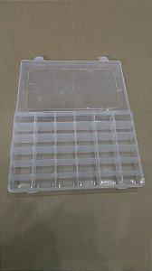 Caixa Plástica 36 Divisórias 27*17*4CM