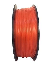 Filamento PLA 1,75mm Vermelho Translúcido 1kg para Impressora 3d