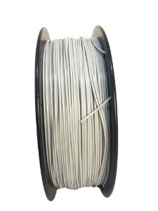 Filamento PLA 1,75mm Prata 1kg para Impressora 3d