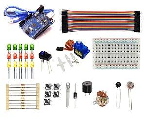 Kit Uno SMD Básico Iniciante Baseado