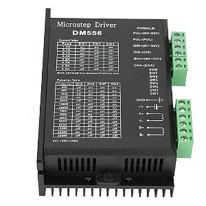 DRIVER PARA MOTOR DE PASSO DM556