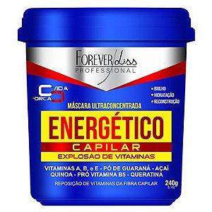 Máscara Ultra Concentrada Forever Liss Professional Energético Capilar 240g