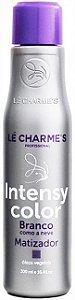 Matizador Desamarelador Lé Charme's Intensy Color Branco Como a Neve 300ml