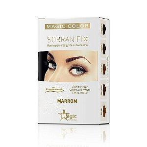 Henna Magic Color Sobran Fix Marrom