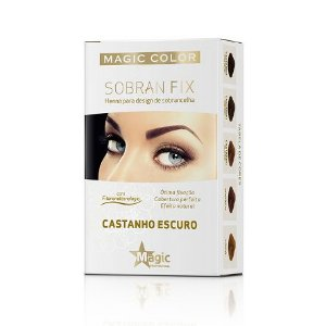 Henna Magic Color Sobran Fix Castanho Escuro