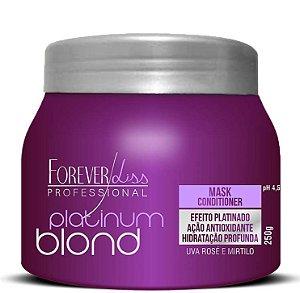 Máscara Forever Liss Professional Platinum Blond Matizadora 250g
