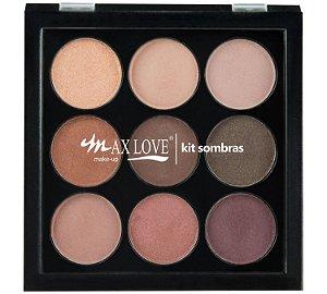 Kit Paleta de Sombras Max Love 02