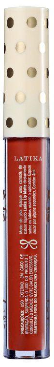 Batom Líquido Latika Lip Matte Nº 11