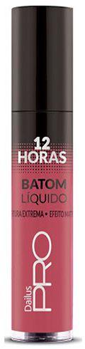 Batom Liquido Matte  Dailus 12 Horas 104 Pecado