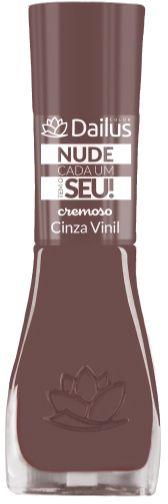 Esmalte Dailus Nude Cada um tem o Seu 16 Cinza Vinil