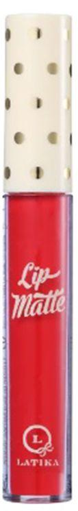 Batom Líquido Latika Lip Matte Nº 24