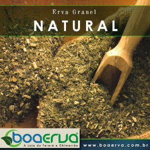 Erva Mate Granel Natural 500g
