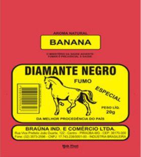 Fumo de Corda - Sabor Banana