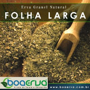 Erva Mate Granel Natural Folha Larga 500g