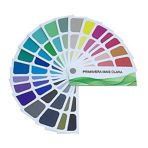 Cartela de Coloração Pessoal - Primavera Mais Clara