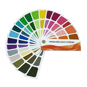 Cartela de Coloração Pessoal - Primavera Mais Intensa
