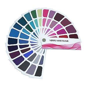 Cartela de Coloração Pessoal - Verão Mais Suave