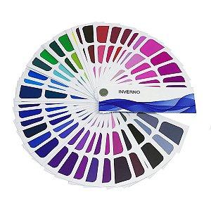 Cartela de Coloração Pessoal - Inverno