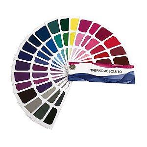 Cartela de Coloração Pessoal - Inverno Absoluto