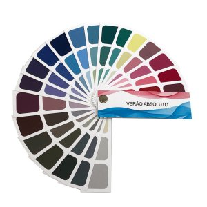 Cartela de Coloração Pessoal - Verão Absoluto