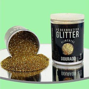 Pó Glitter Dourado 5g