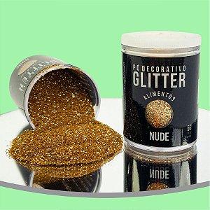 Pó Glitter Nude 5g