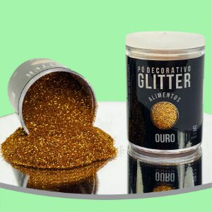 Pó Glitter Ouro 5g