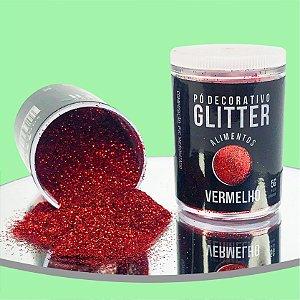Pó Glitter Vermelho 5g
