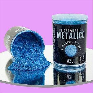 Pó Metálico Azul 5g