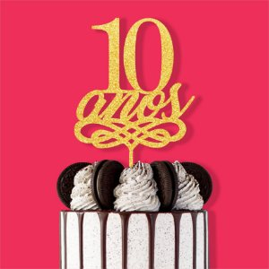 Topo Bolo 10 Anos