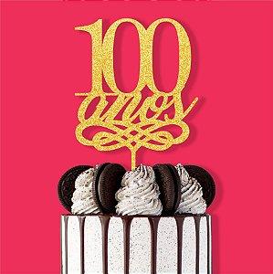 Topo Bolo 100 Anos