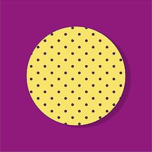 Cake Board Estampado Redondo - POA (Dois)