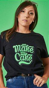 Camiseta Feminina We Make Preta