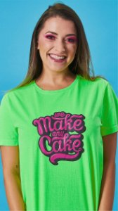 Camiseta Feminina We Make Verde
