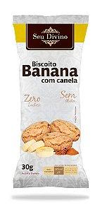 COOKIES BANANA COM CANELA 30G