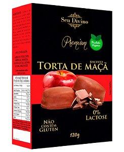 Biscoito Torta de Maçã Vegano - Sem Glúten e Sem Leite - 120g