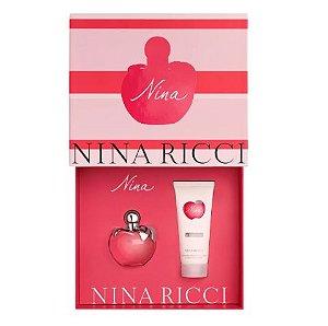 Conjunto Nina Nina Ricci Eau de Toilette 80ml + Loção Corporal 100ml