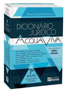 Dicionário Jurídico Acquaviva - 7ª edição