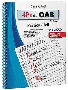 4 Ps da OAB - Prática Civil - 3ª edição