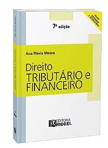 Direito Tributário e Financeiro - 7ª edição