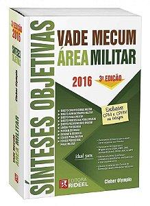 Vade Mecum Sínteses Objetivas - Área Militar - 3ª edição