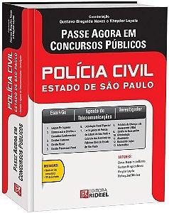 Passe Agora em Concursos Públicos - Polícia Civil do Estado de SP - 1ª edição