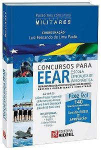 Passe em Concursos Militares - EEAR - Escola Especialista de Aeronáutica - 1ª edição