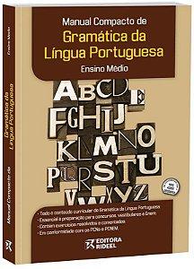 Manual Compacto de Gramática da Língua Portuguesa – ENSINO MÉDIO