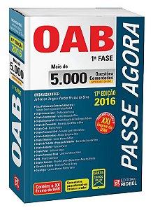 Passe Agora na OAB 1ª fase – 5.000 Questões Comentadas - 17ª edição